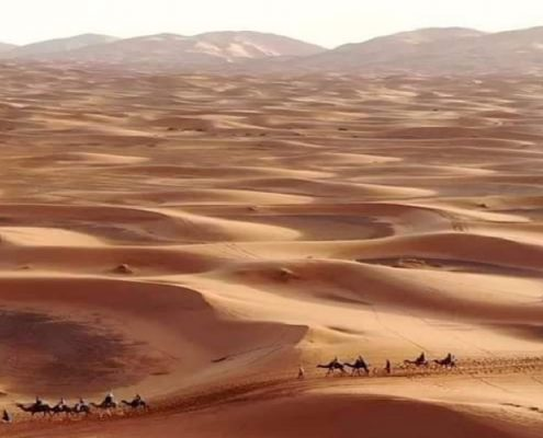 6 days Tour from Tangier to Merzouga and Mhamid Desert