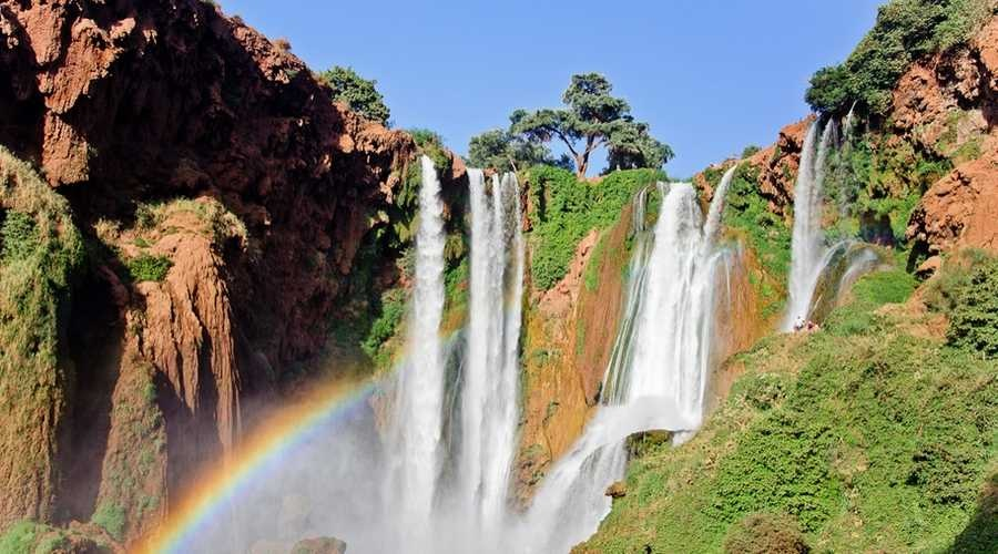 Day trip from Marrakech to Ouzoude Waterfalls