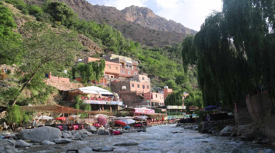Day trip from Marrakech to the three valleys