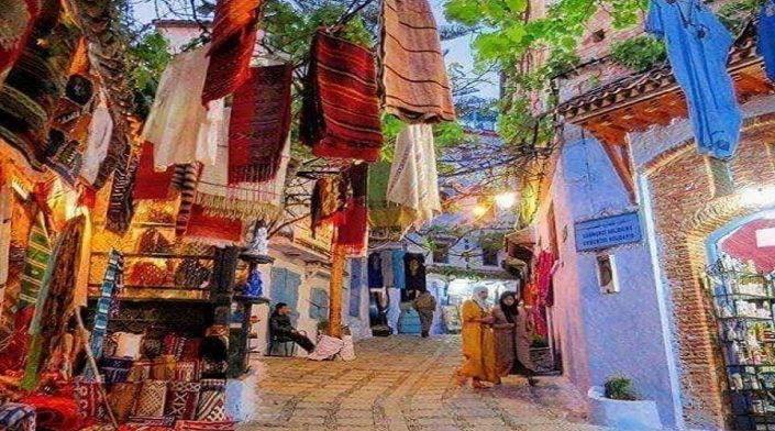 Voyage de 7 Jours Marrakech Desert Chefchaouen
